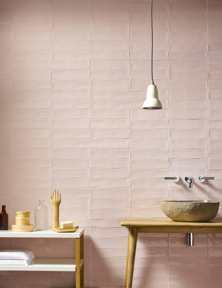 A Splash Of Colour In Stone Tiles Mandarin Stone