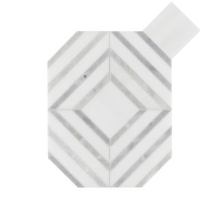 Alps Octagon Marble Tile -Swatch