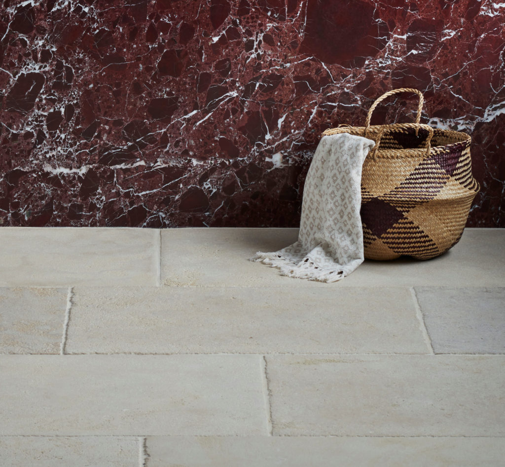 Bayonne Provence, Rosso Levanto Polished Marble