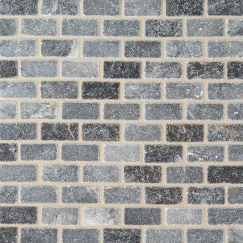 Bluestone Tumbled Marble Mosaic