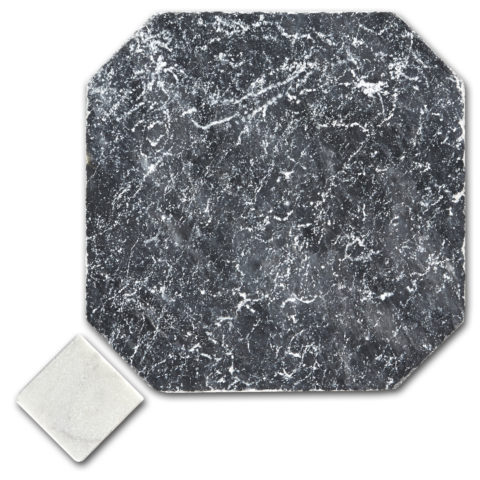 Bluestone Tumbled Marble Octagon