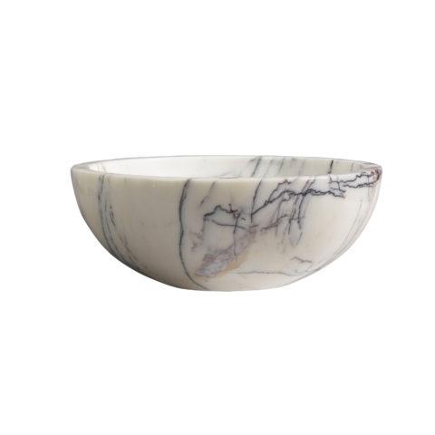 Calacatta Viola Polished Marble Pluto Basin