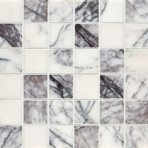 Calacatta Viola Polished Marble Mosaic