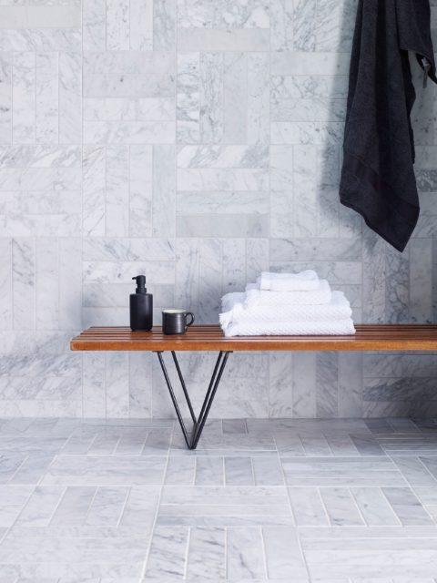 Carrara floor tile