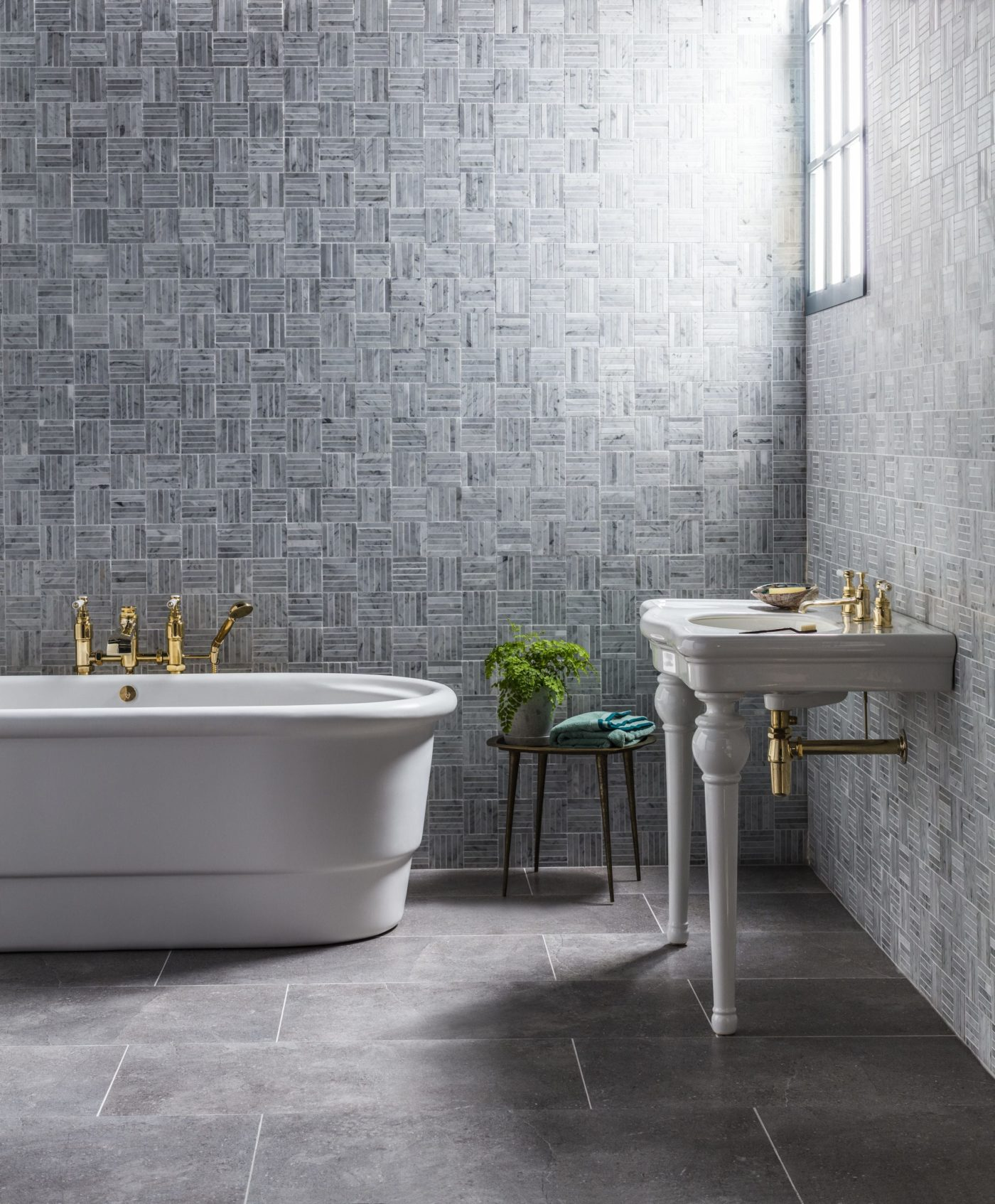 stone bathroom tiles. Mimica Blenheim Blue Porcelain Stone Bathroom Tiles S