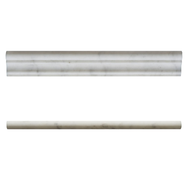 Carrara Honed Marble Moulding Rail