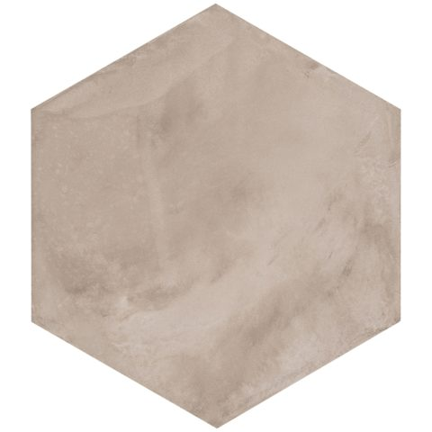 Casablanca Light Grey Base Hexagon Decorative Porcelain