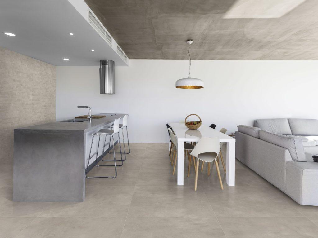 Cemento Light Grey Matt Porcelain Tile