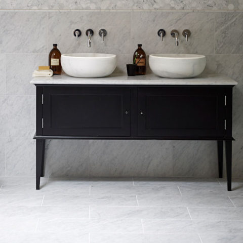 Chelsea Stone Topped Painted Vanity Unit