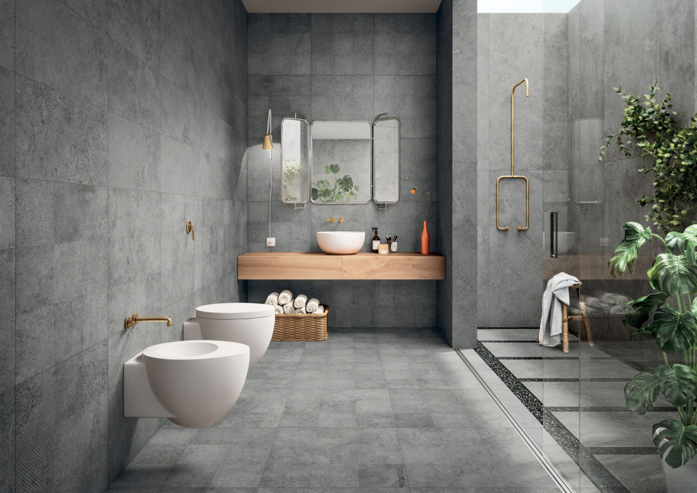 Grey Bathroom Ideas For Clean Urban House Styles: How To Design The Ultimate Bathroom