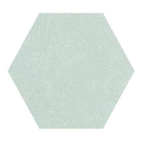 Colour Block Blue Porcelain Hexagon