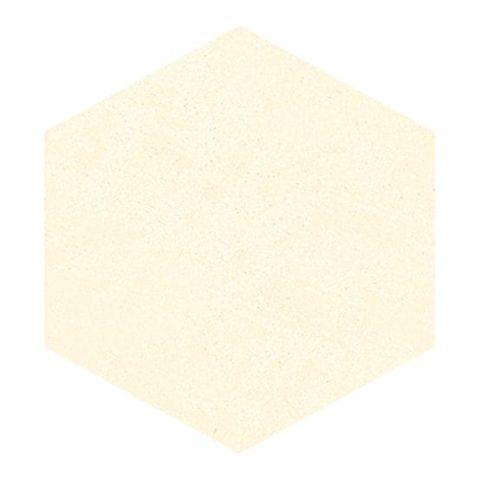 Colour Block Clay Porcelain Hexagon