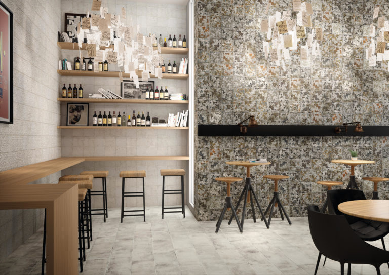 Demelza Tin Oxide Decor, Talc Decor &; Talc Tiles