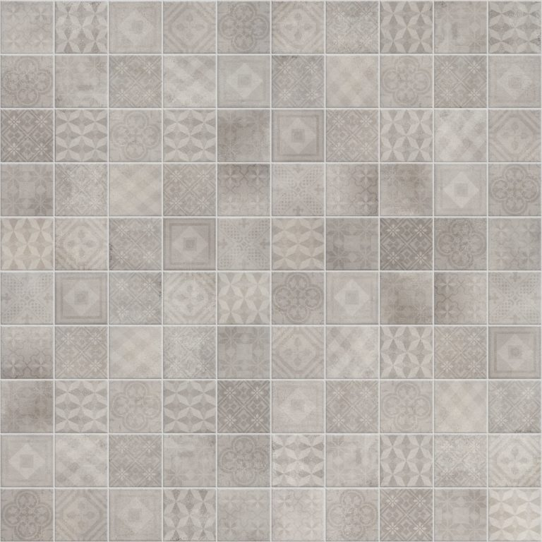Etch light grey mix decor decorative porcelain tiles for Carrelage 10x10