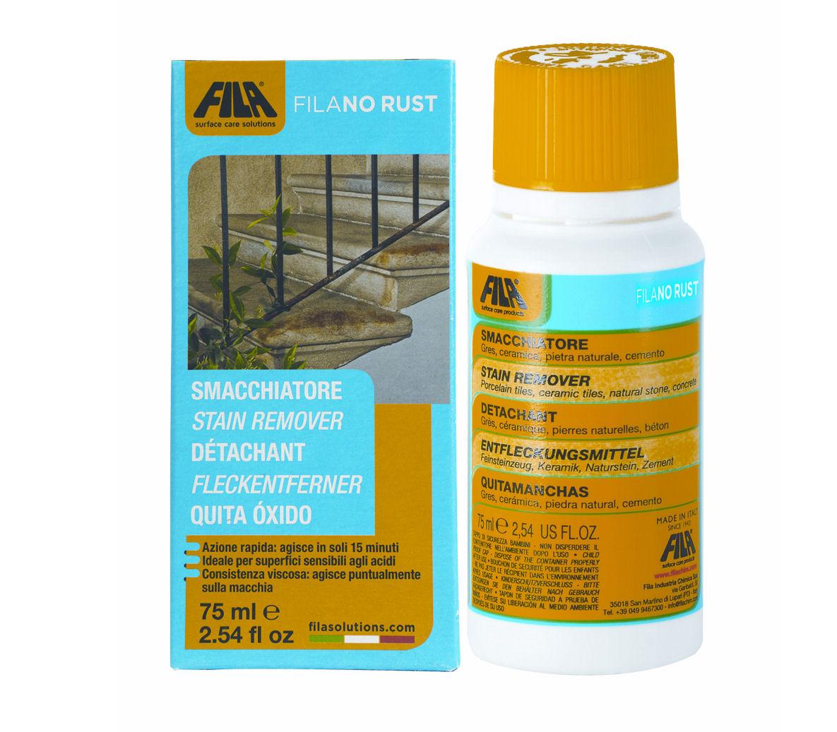 Fila No Rust | Stain Remover for Rust Marks Tiles | Mandarin Stone