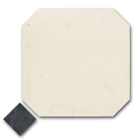 Flax Honed Limestone Octagon