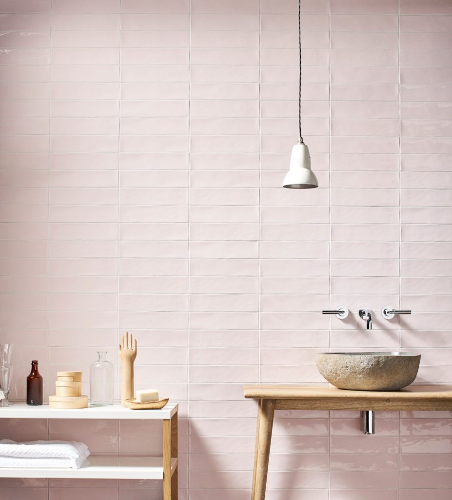 Gelato Rose Gloss Decorative Collection Tiles | Mandarin Stone