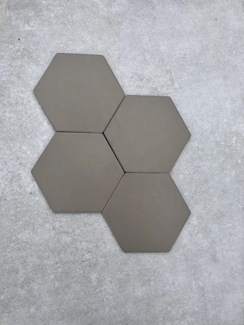 Geometric Clay Matt Porcelain Hexagon