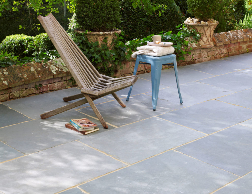 Mandalay Blue Riven Limestone