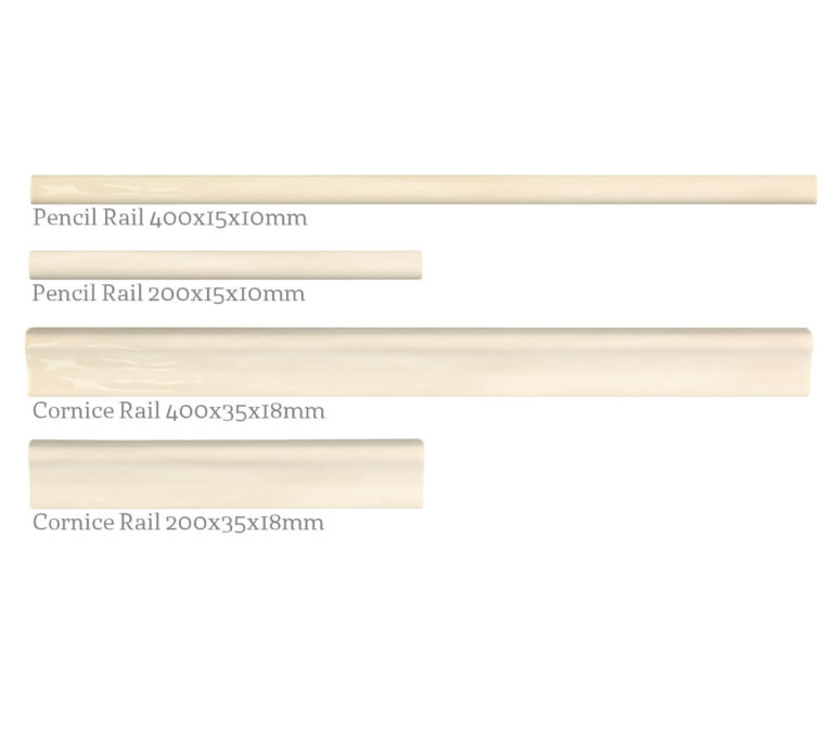 Paintbox Bone Mouldings Rail