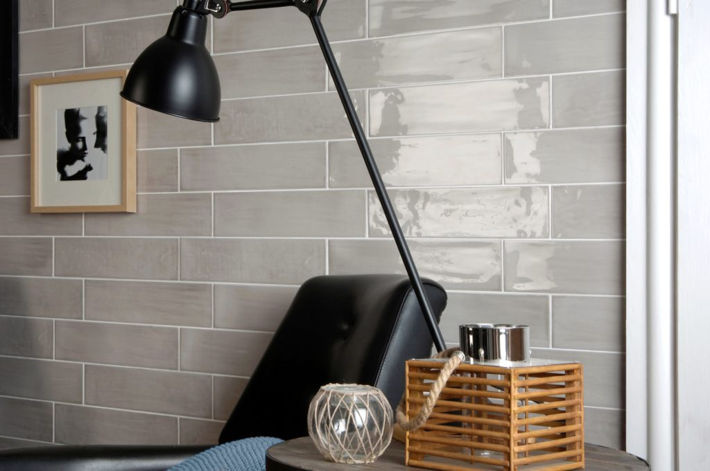 Paintbox Taupe Gloss Colour Palette Wall Tile