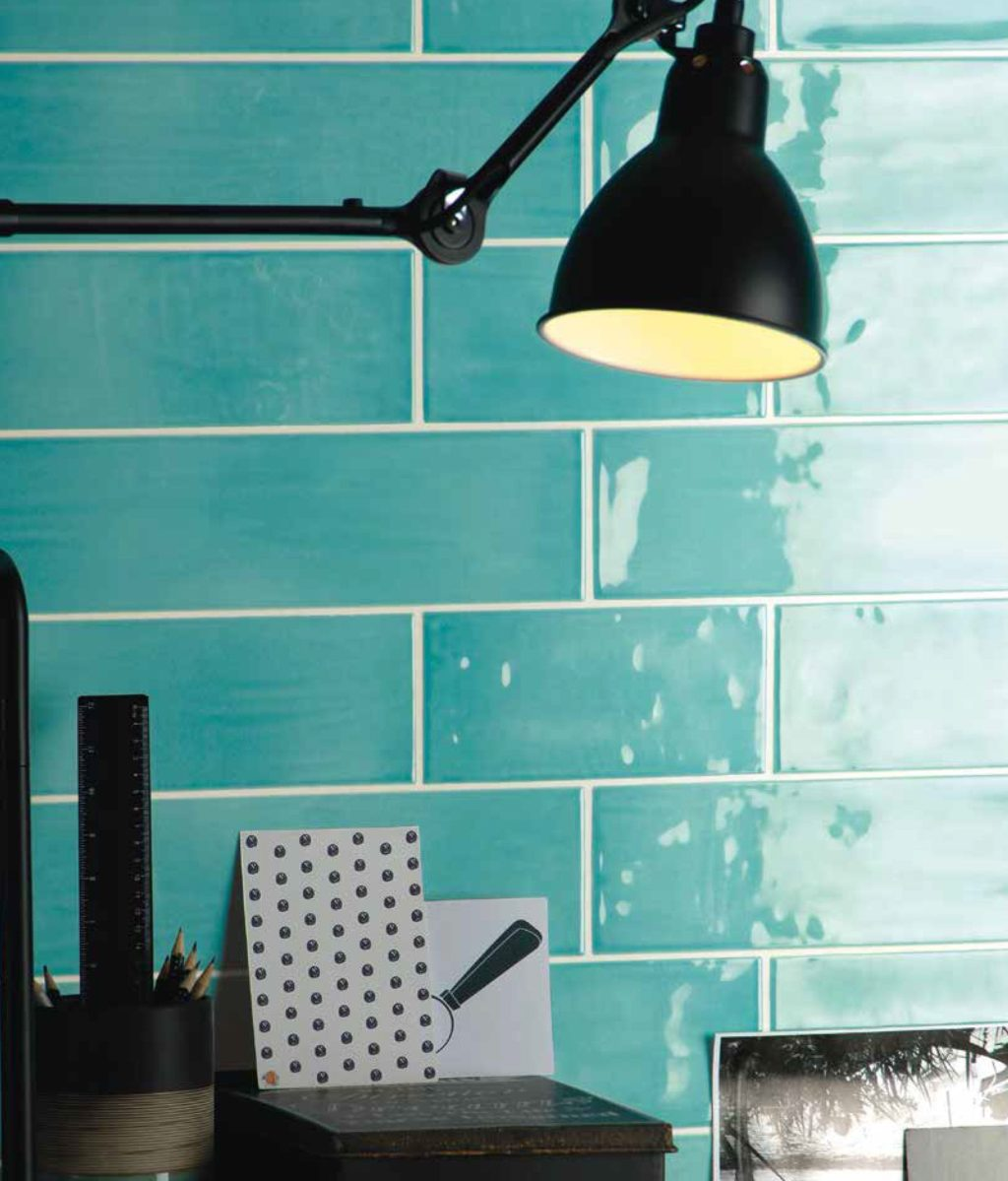 Paintbox Turquoise Gloss Colour Palette Wall Tiling
