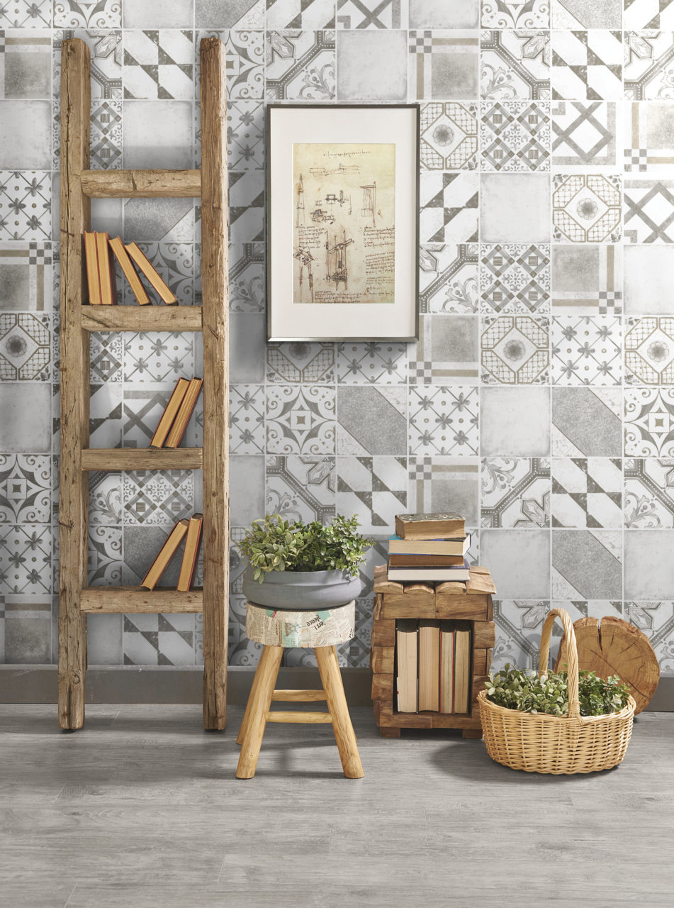 Palladio Grey Mix Decorative Porcelain Tiles