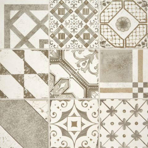 Palladio Grey Mix Decorative Porcelain