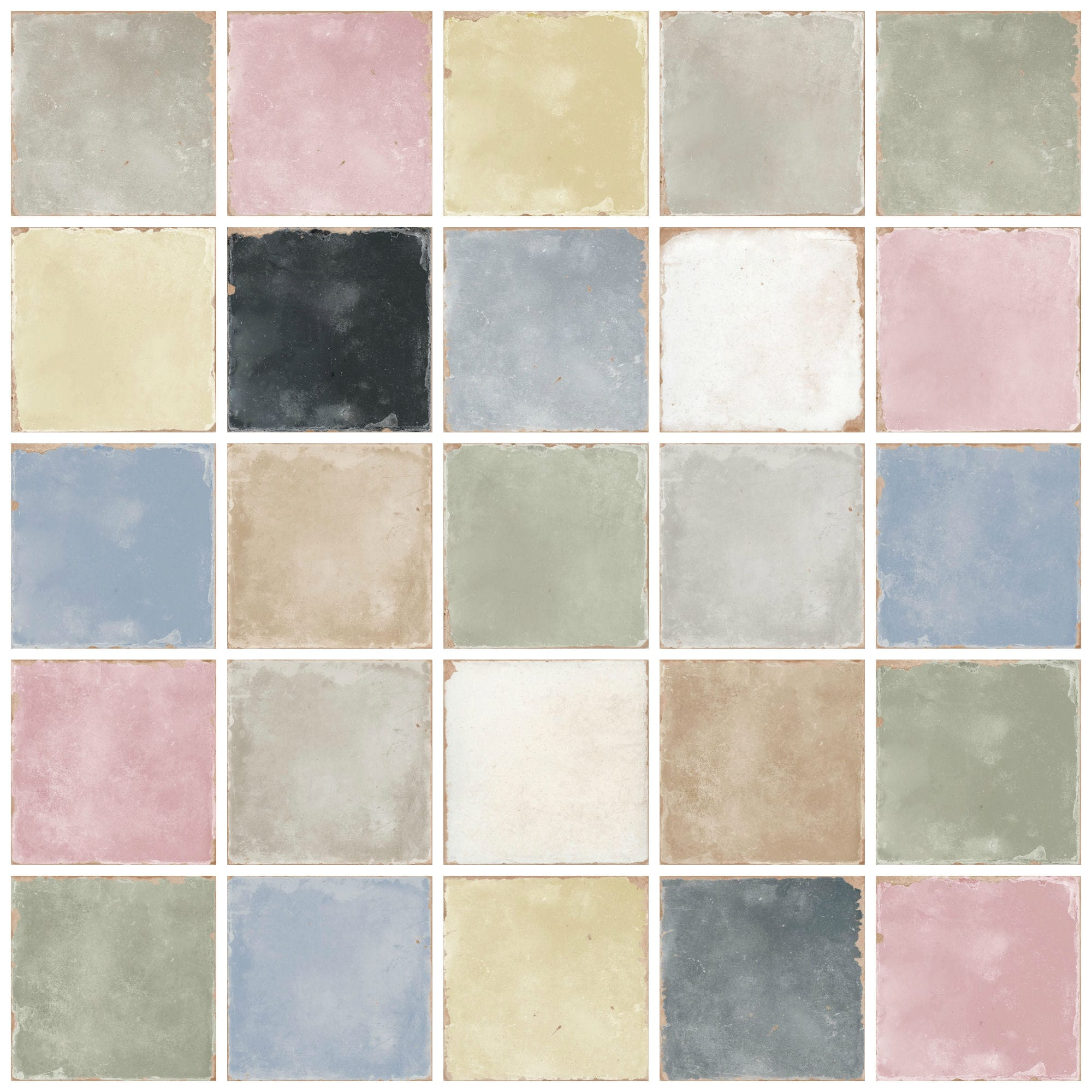00ce4053cc60 Pastello Mix Decorative Porcelain Tiles