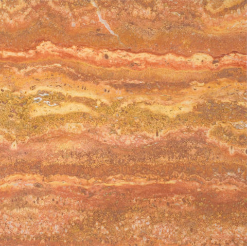Persian Red Vein Cut Polished Filled Travertine