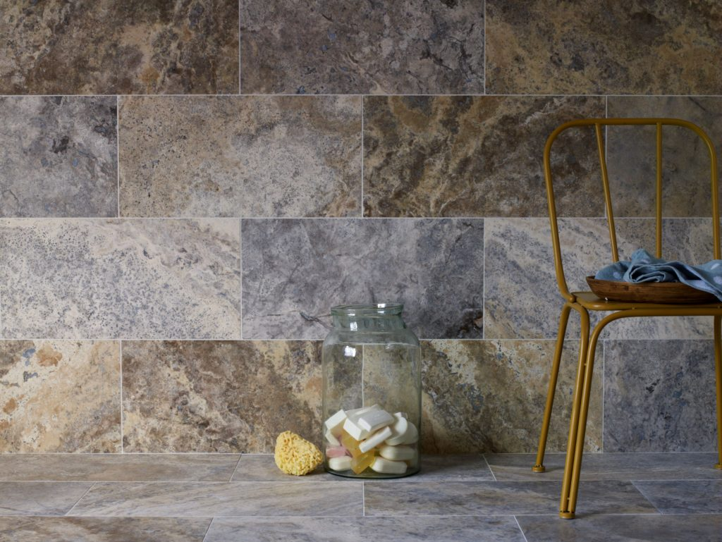 Silver Honed Filled Travertine Previous