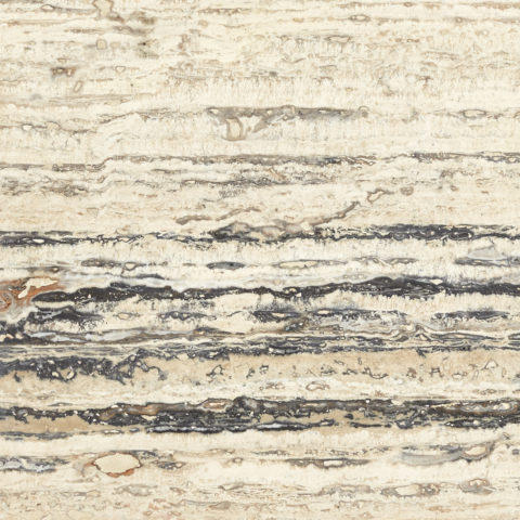 Striata Vein Cut Honed Filled Travertine