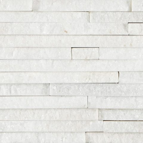 White Quartzite Mini Splitface