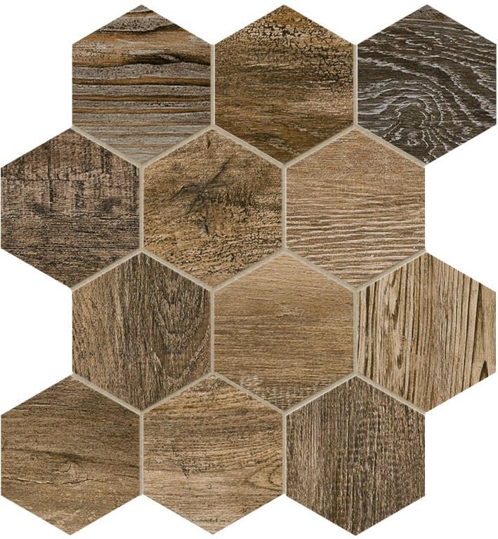 1 inch hexagon floor tiles