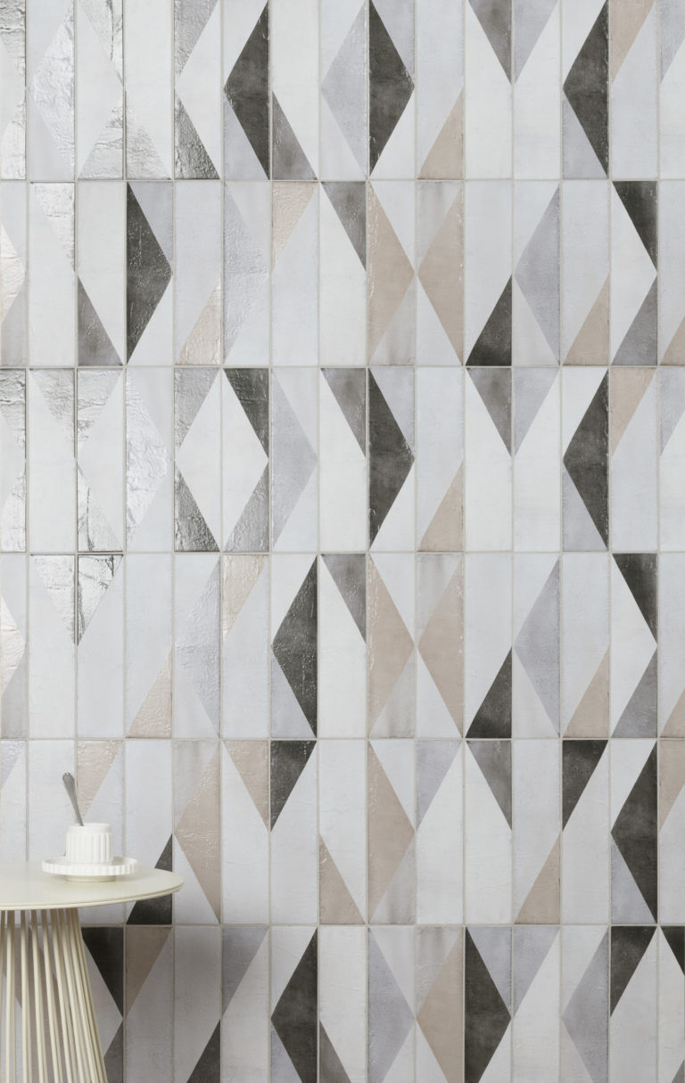 Oblique Latte Mix Decor Lifestyle Tiles