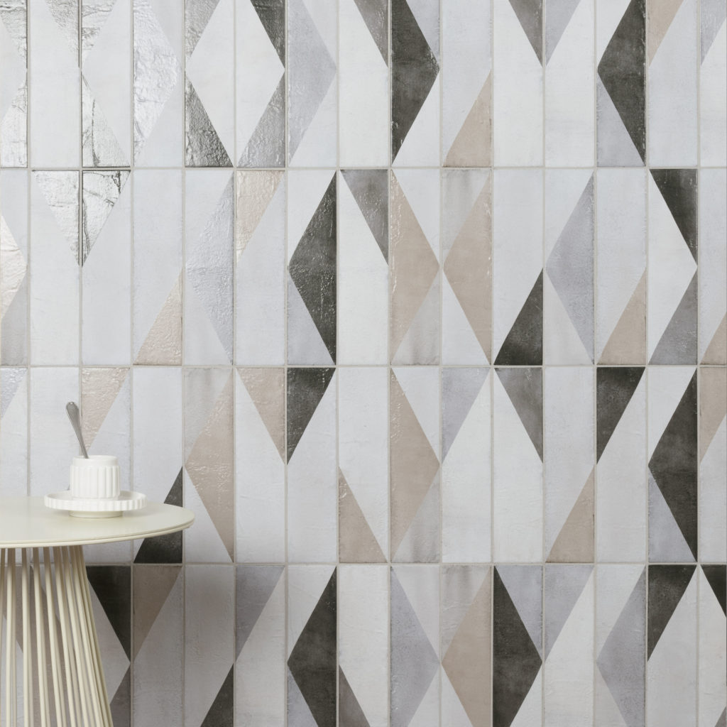 Oblique Latte Mix Decor Lifestyle Tile