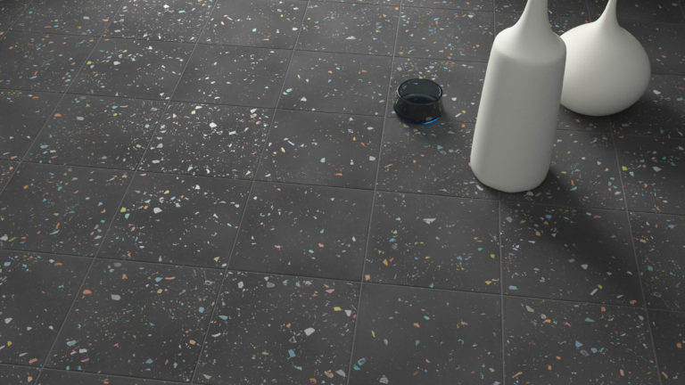 Spektrum Black Porcelain Flooring