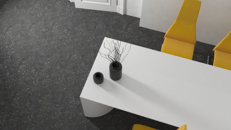 Spektrum Black Porcelain Tiles