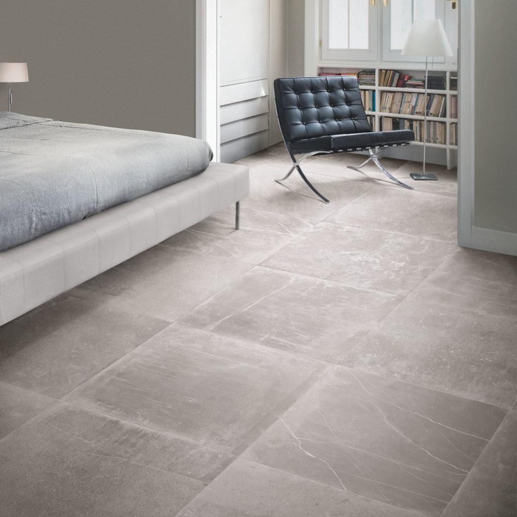 Fusion Grey Matt Porcelain Tiles | Mandarin Stone