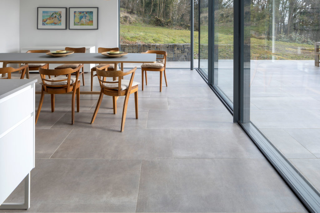 Hessian Grigio Porcelain Tile 1200x600x10mm (1)