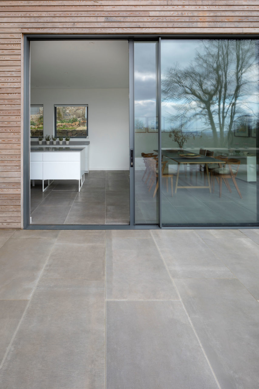 Hessian Grigio Porcelain Floor Tile 1200x600x10mm