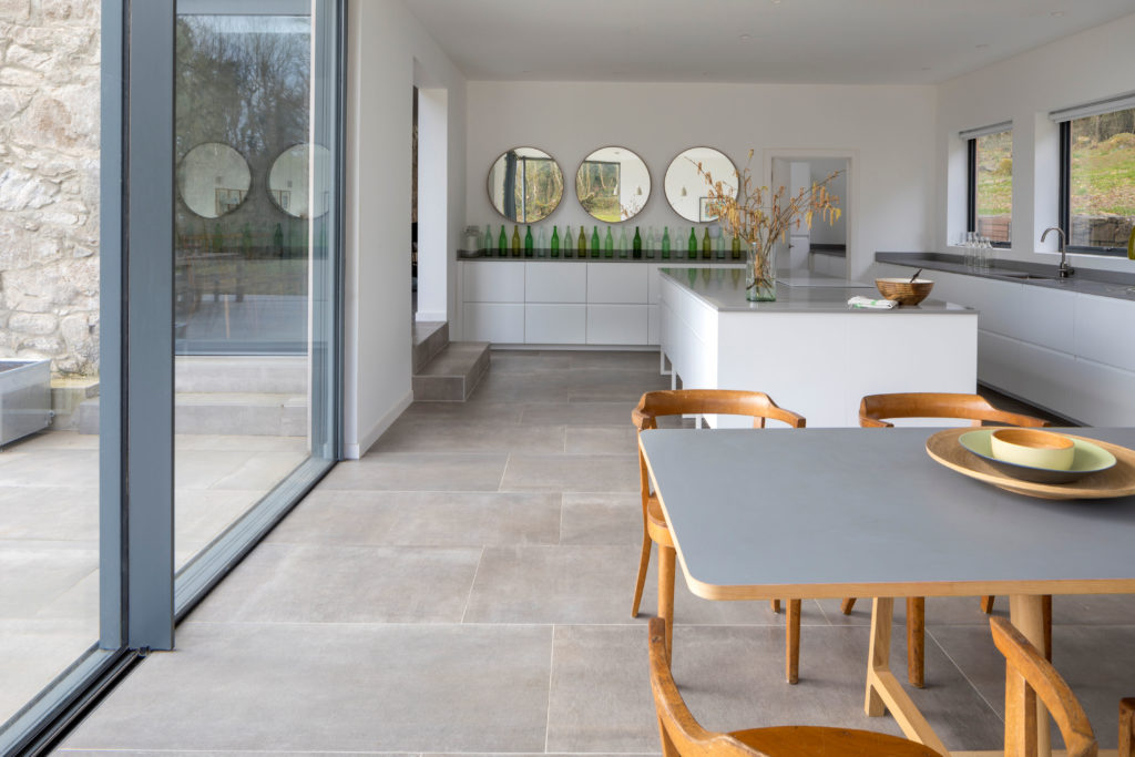 Hessian Grigio Porcelain Tile 1200x600x10mm (9)