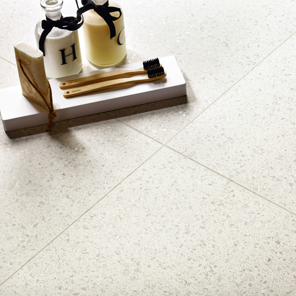 Mimica Bianco Matt Porcelain Floor Tile