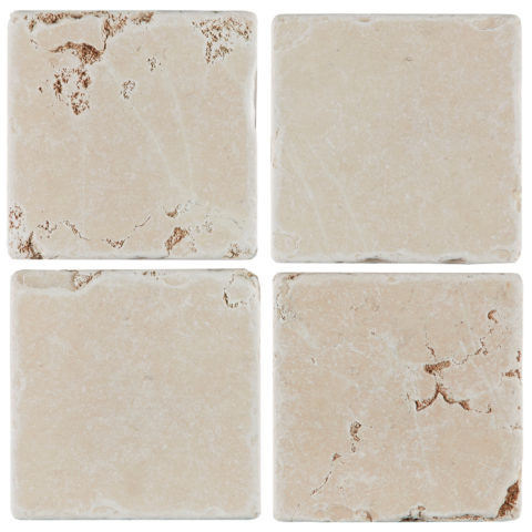 Rosa Perlino Tumbled Marble