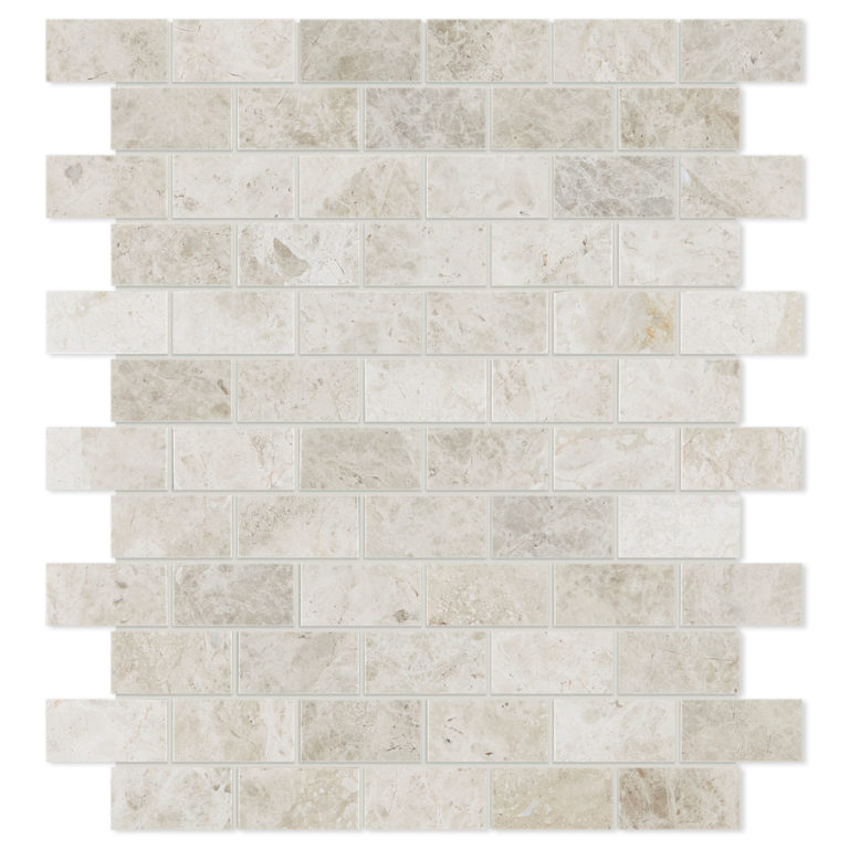 Tundra Honed 25x50mm Mosaic Tile