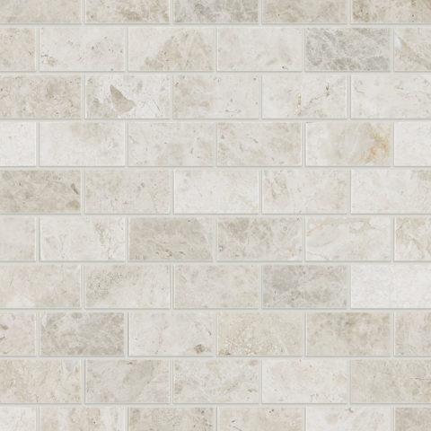 Tundra Honed Marble Mosaic