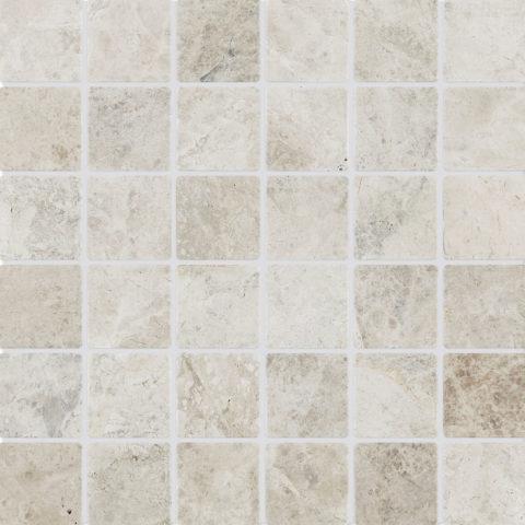 Tundra Tumbled Marble Mosaic