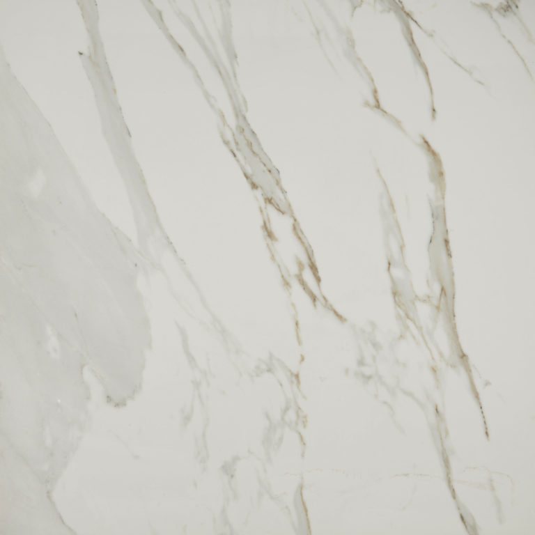 Mimica Calacatta Oro Gloss Porcelain Tile Swatch