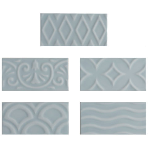 Alberta Blue Gloss Ceramic