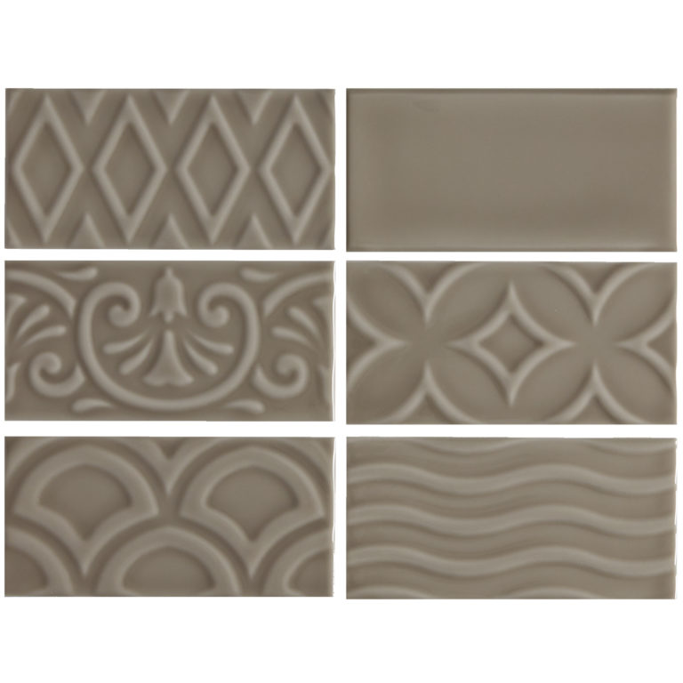 Alberta Brown Ceramic Tile Swatch